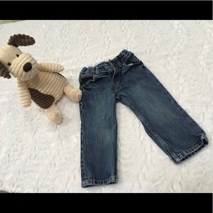 Carter's jeans size 24 months